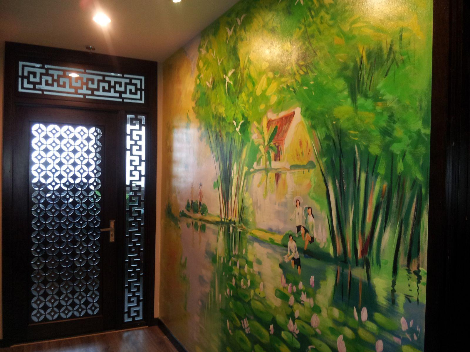 Mẫu tranh tường