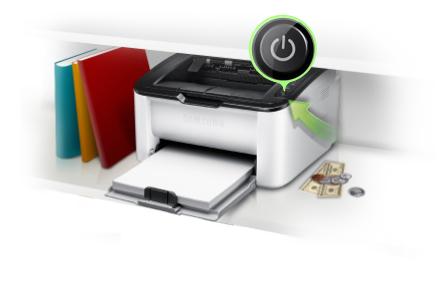 Máy in đơn sắc ML-1671 được trang bị đầy đủ các tính năng in thông thường. Với thiết kế bảng điều khiển phía trên khá tiện dụng và công tắc nguồn dễ thấy, người dùng máy có thể nhanh chóng bật sang chế độ tiết kiệm điện năng khi không cần in ấn.
